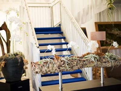 dekorace schodiště